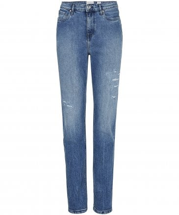 Tommy Hilfiger Women's Icons Gramercy High Waisted Jeans
