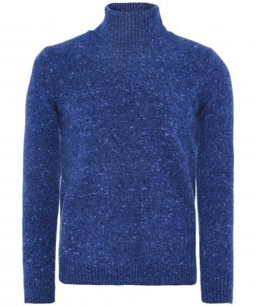 Cashmere & Lambswool Roll Neck Jumper