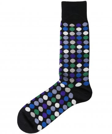 Daley Polka Dot Socks