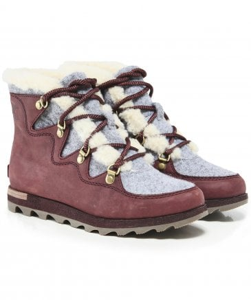 Sorel Women's Sneakchic Alpine Holiday Boots