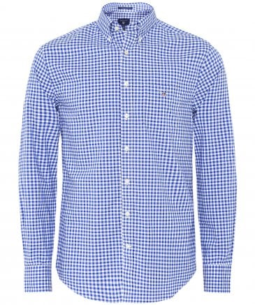Regular Fit Broadcloth Gingham Shirt