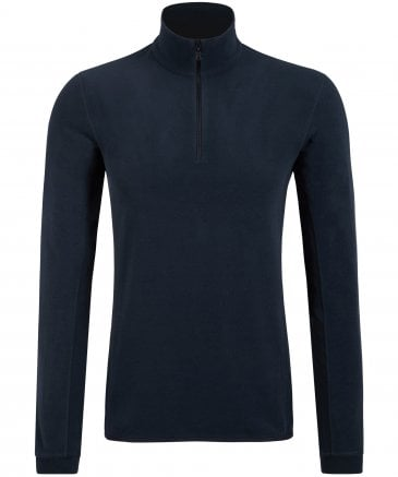 Half-Zip Mirko Fleece Top