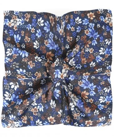 Silk Floral Pocket Square