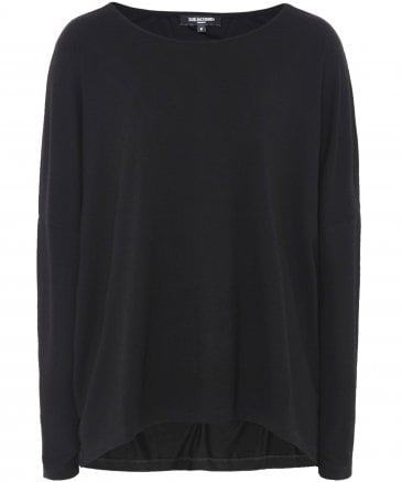 Square Cut Jersey Top