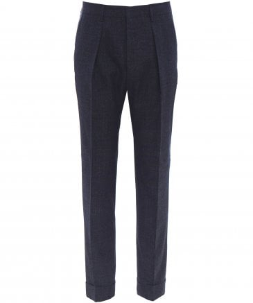 Relaxed Fit Cropped Ole Trousers