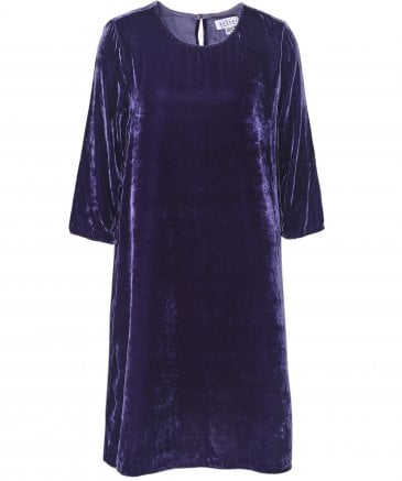 Prunella Velvet Dress