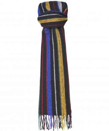 Lambswool College Stripe Scarf