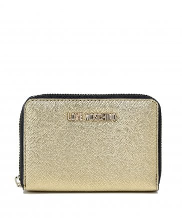 Moschino Love Moschino Women's Small Zip Around Wallet | Jules B