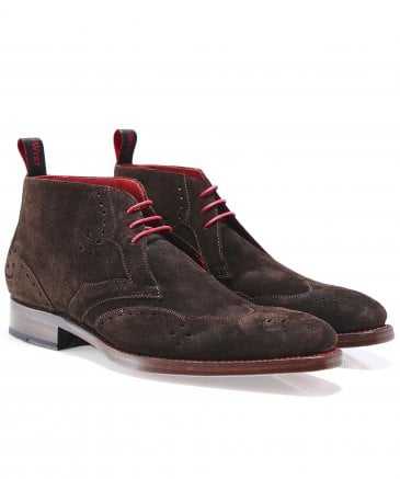Suede Cutthroat Chukka Boots