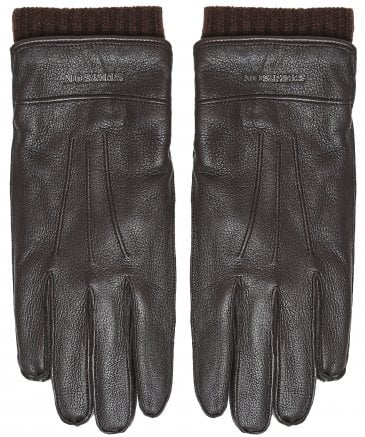 Leather & Cashmere Gloves