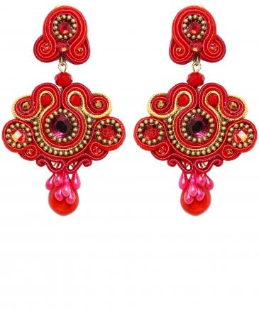 Candela de Reina Women's Escarlata Drop Earrings