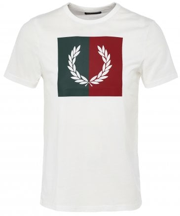 Split Laurel Wreath T-Shirt M5592 129