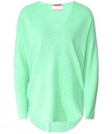 Cashmere V-Neck Side Zip Jumper