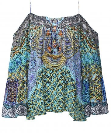 Silk Marrakesh Gypsy Top