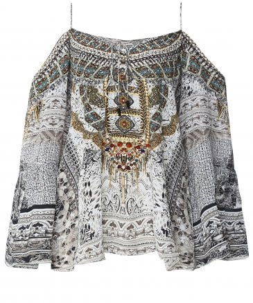 Silk Blanco La Neve Gypsy Top