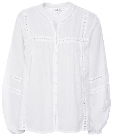 Yadira Button Down Embroidered Shirt