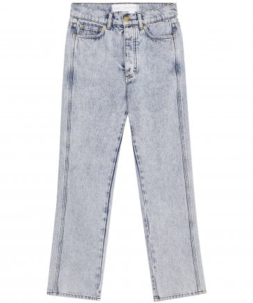 Super High Cali Straight Leg Jeans