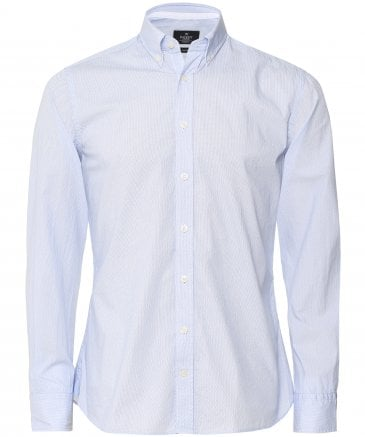 Slim Fit Micro Diamond Shirt