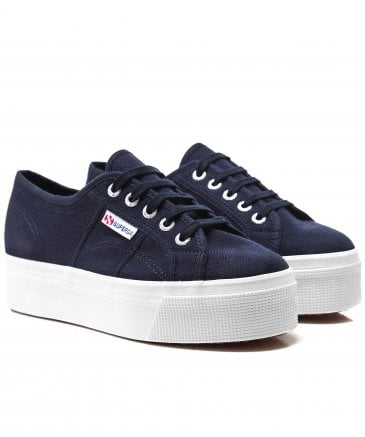 Superga Women's Linea Flatform 2790 Trainers