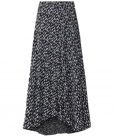 Titania Side Split Midi Skirt