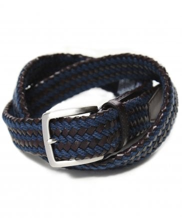 Woven Two Cord Belt