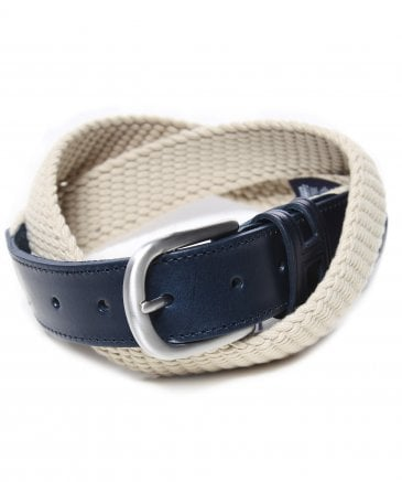 Hackett Men's Woven Parachute Cord Belt