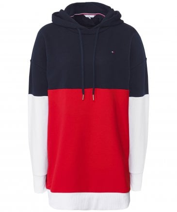 Talina Colour Blocked Drawstring Hoodie