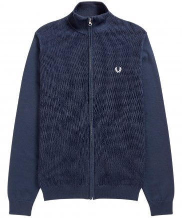 Expanded Pique Knitted Track Jacket K5519 E97