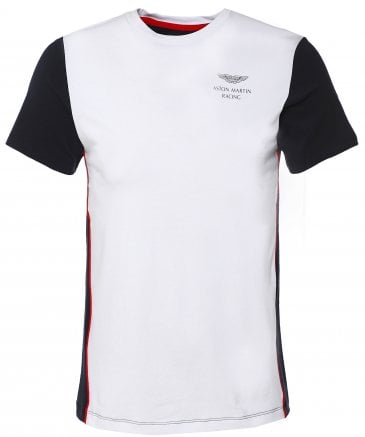 Cotton Contrast Back T-Shirt