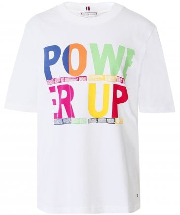 Tommy Hilfiger Women's Tora Power Up T-Shirt