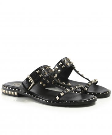Ash Women's Leather Prince Studded Sandals