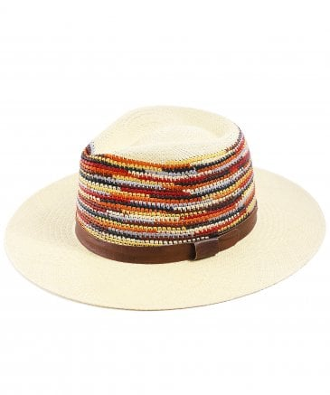 Bailey Men's Tasmin Straw Fedora Hat