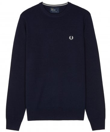 Merino Wool Crew Neck Jumper K4501