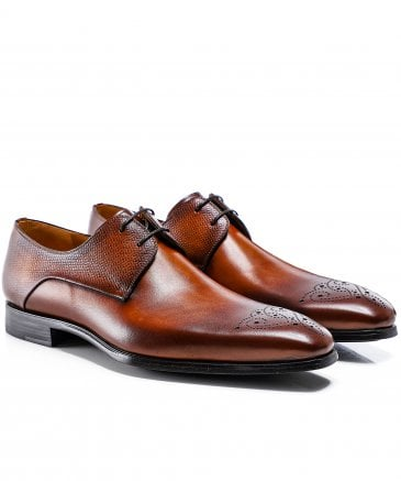 Leather Thunder Derby Shoes