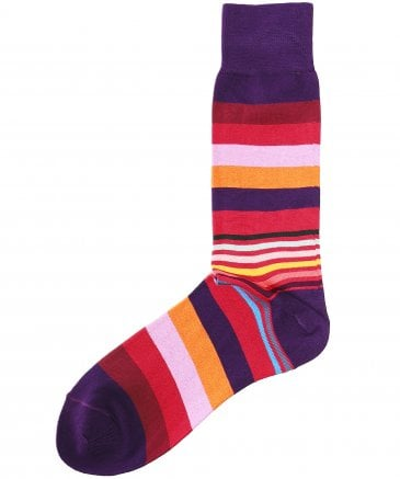 Paul Smith Men's Artist Block Socks