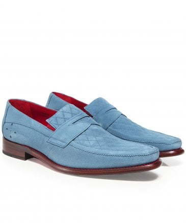 Suede Dance Melly Penny Loafers