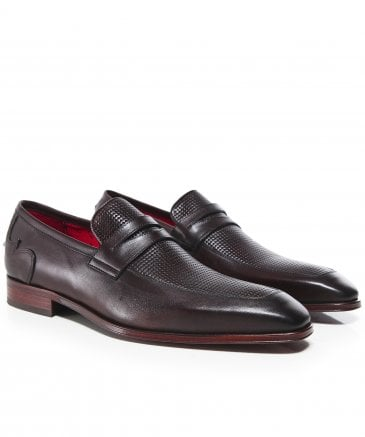 Leather Soprano Penny Loafers