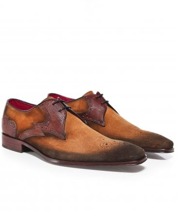 Burnished Suede Scarface Shoes
