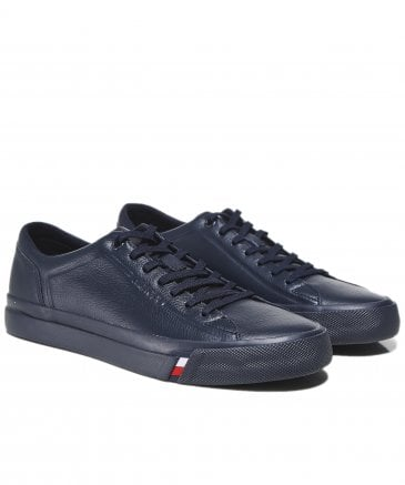 Tumbled Leather Corporate Trainers