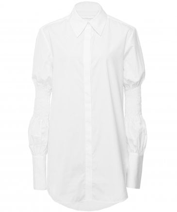 Cotton Smock Sleeve Shirt