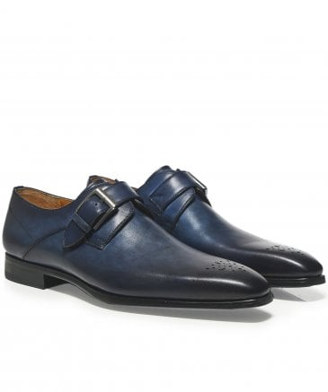 Leather Monk Strap Thunder Shoes