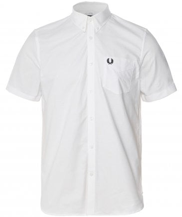 Short Sleeve Classic Oxford Shirt M3531 100