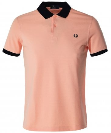 Colour Block Polo Shirt M5571 E63
