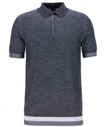 Slim Fit Knitted Filberto Polo Shirt