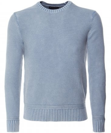 Washed Cable Knit Jumper