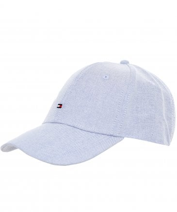 Chambray Cotton Baseball Cap