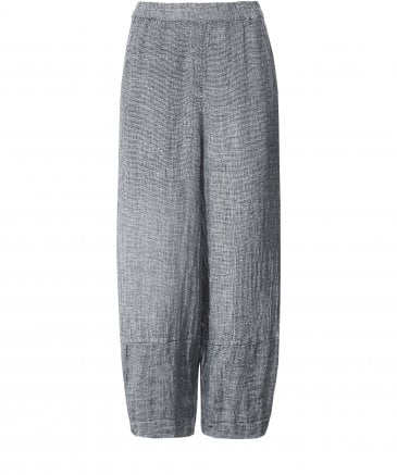 Linen Flecked Trousers