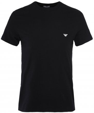 Crew Neck Small Eagle T-Shirt