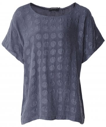Silk Bubble Pattern T-Shirt