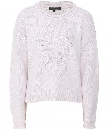 Bonnie Knitted Skull Front Jumper